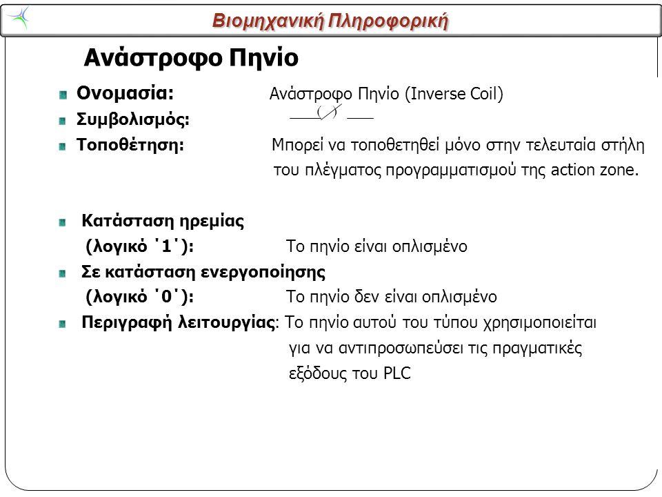 Ανάστροφο Πηνίο Ονομασία: Ανάστροφο Πηνίο (Inverse Coil) Συμβολισμός:
