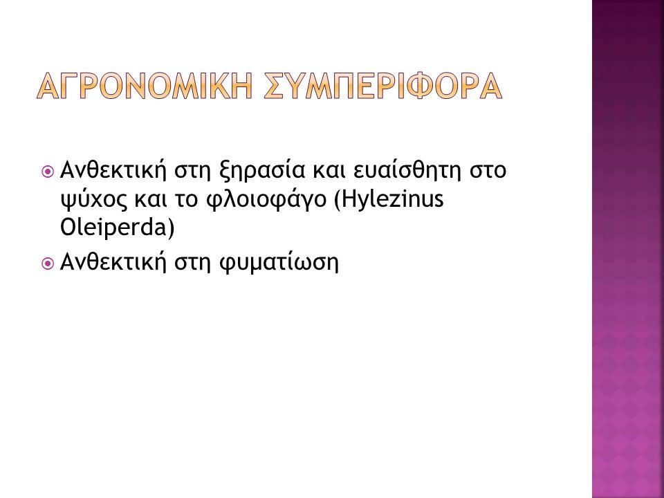 ΑΓΡΟΝΟΜΙΚΗ ΣΥΜΠΕΡΙΦΟΡΑ