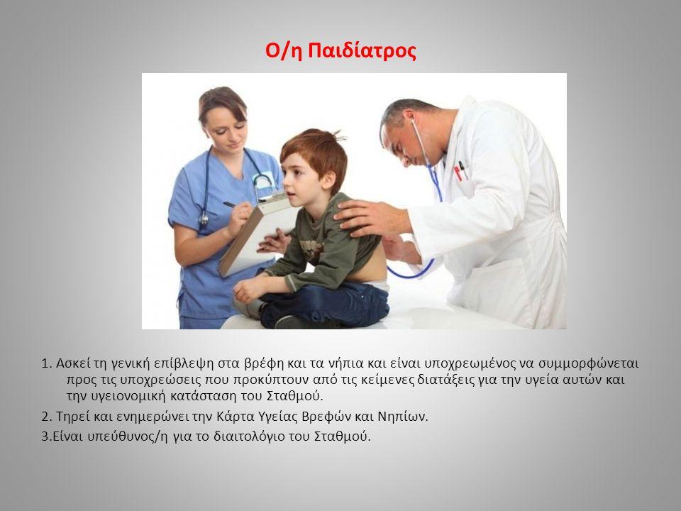 Ο/η Παιδίατρος