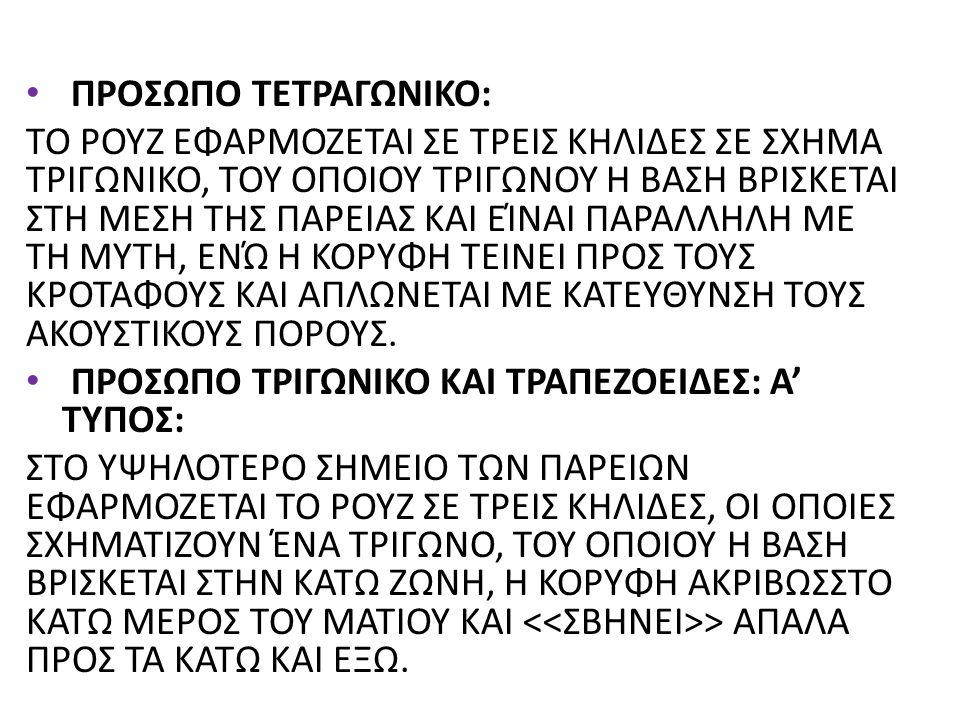 ΠΡΟΣΩΠΟ ΤΕΤΡΑΓΩΝΙΚΟ: