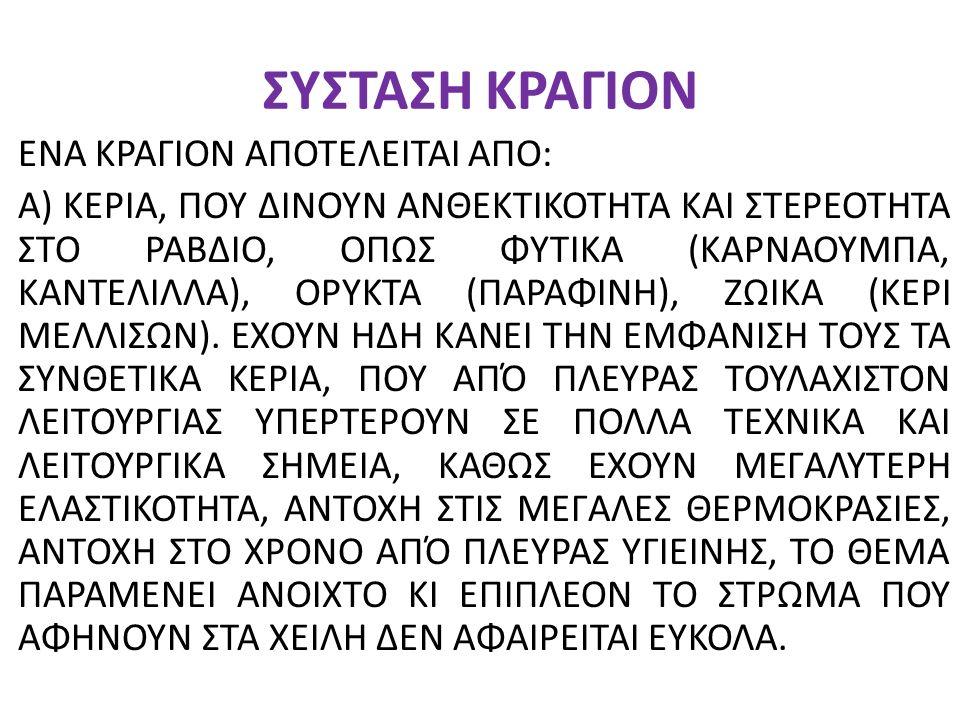 ΣΥΣΤΑΣΗ ΚΡΑΓΙΟΝ