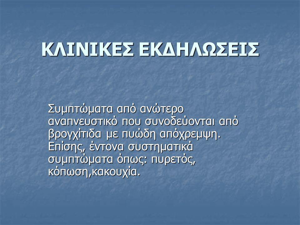 ΚΛΙΝΙΚΕΣ ΕΚΔΗΛΩΣΕΙΣ