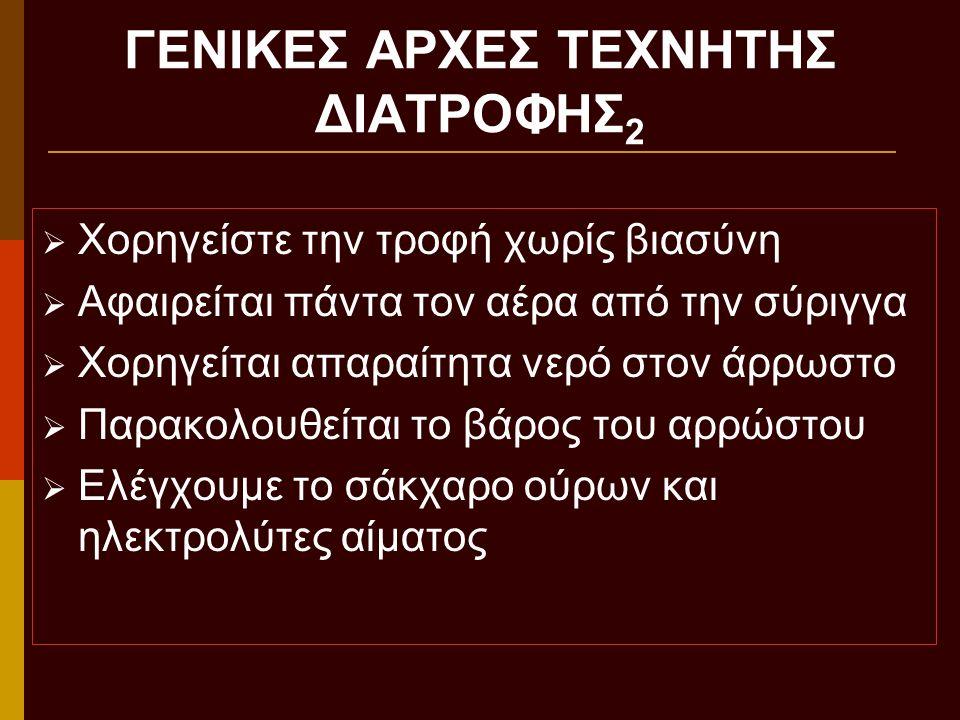 ΓΕΝΙΚΕΣ ΑΡΧΕΣ ΤΕΧΝΗΤΗΣ ΔΙΑΤΡΟΦΗΣ2