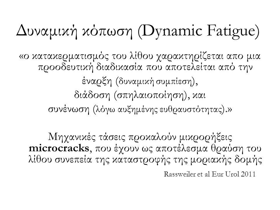 Δυναμική κόπωση (Dynamic Fatigue)