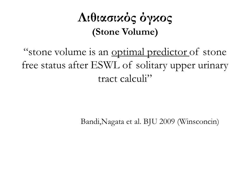 Λιθιασικός όγκος (Stone Volume)