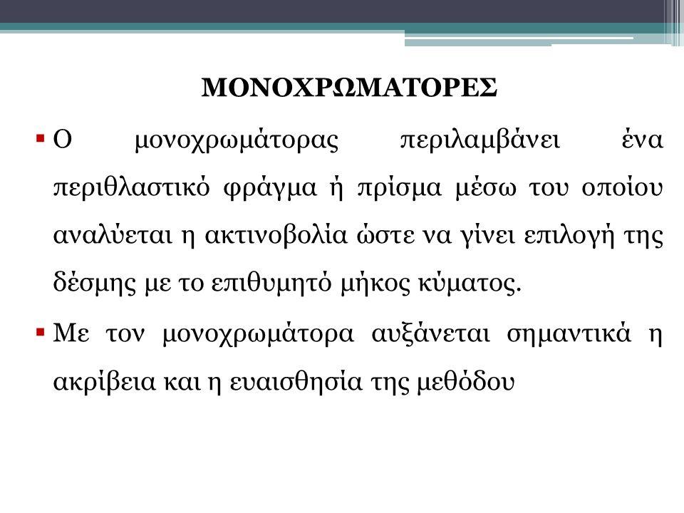 ΜΟΝΟΧΡΩΜΑΤΟΡΕΣ