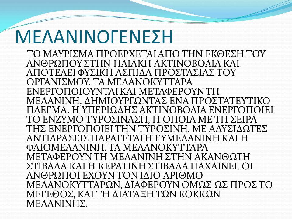 ΜΕΛΑΝΙΝΟΓΕΝΕΣΗ