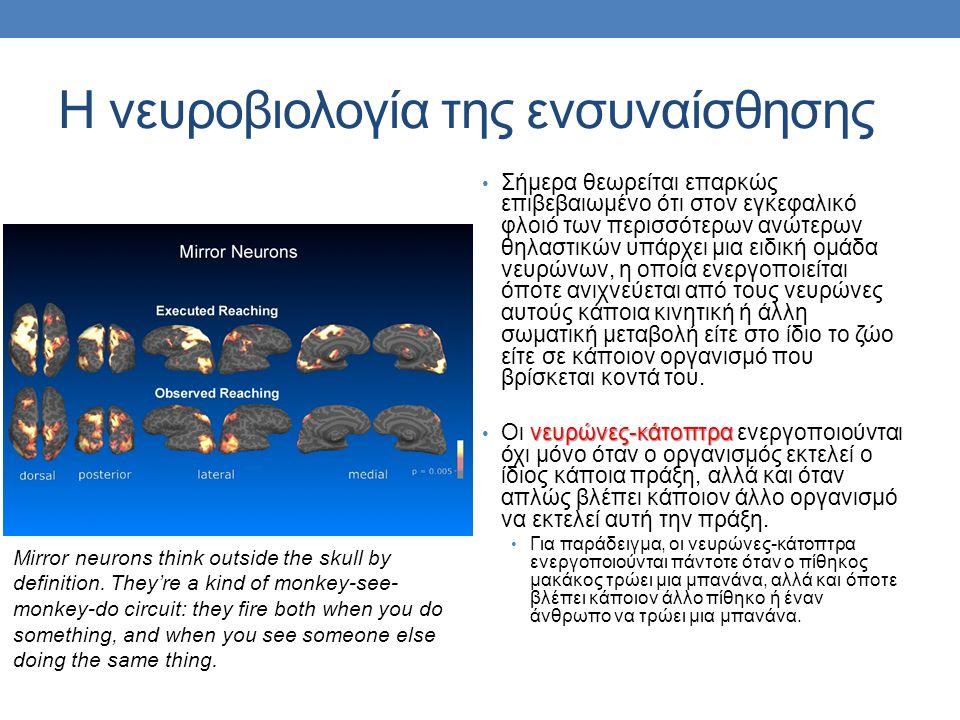 Η νευροβιολογία της ενσυναίσθησης