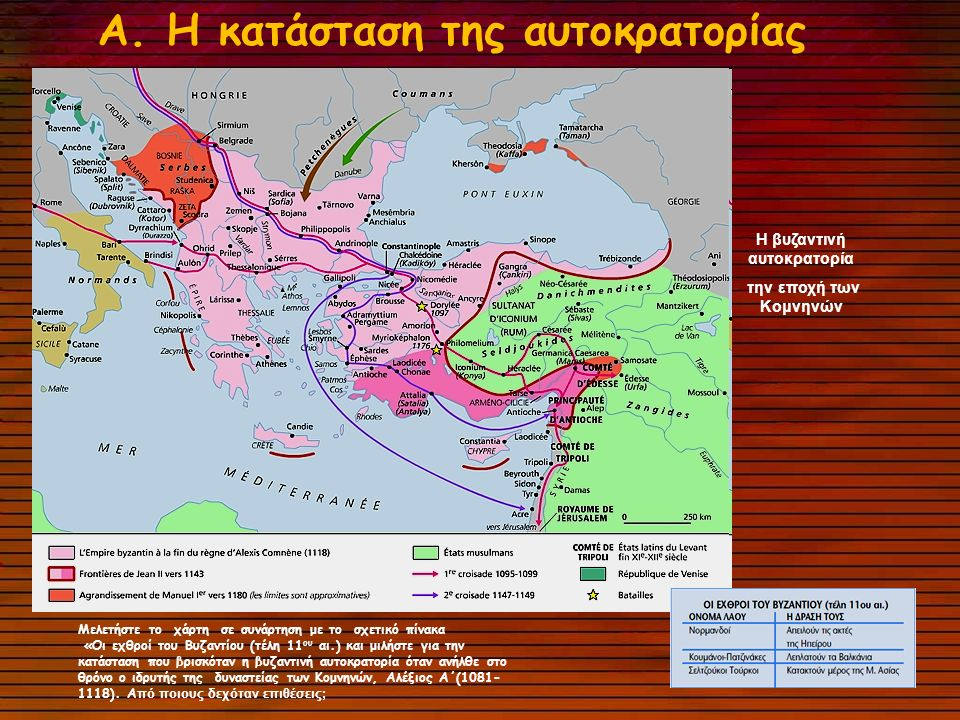 H βυζαντινή αυτοκρατορία