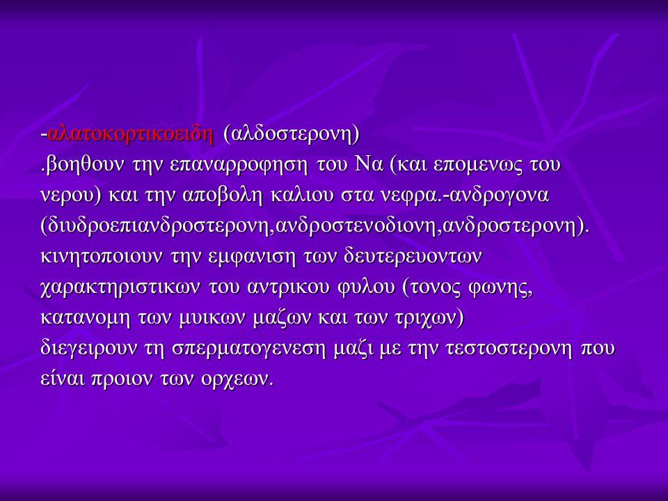 -αλατοκορτικοειδη (αλδοστερονη)