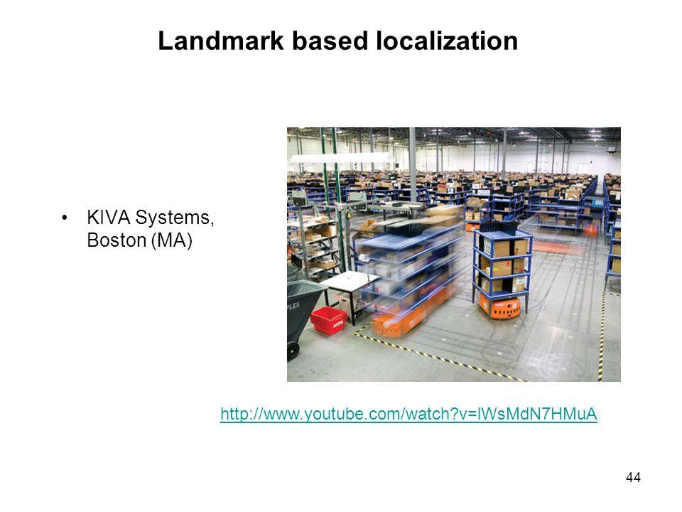 Landmark based localization