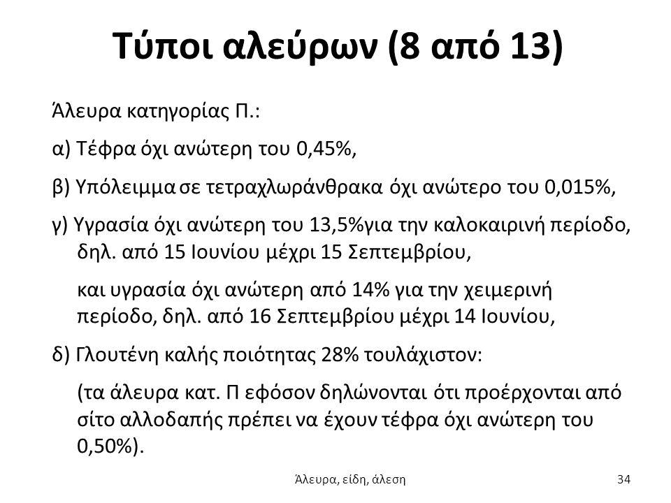 Τύποι αλεύρων (8 από 13)