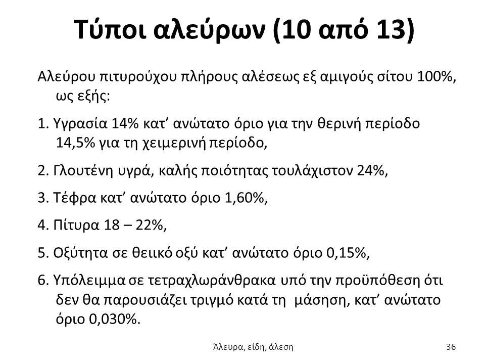 Τύποι αλεύρων (10 από 13)