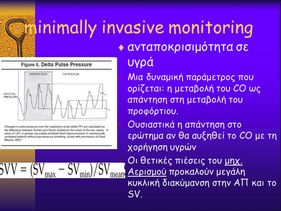 minimally invasive monitoring