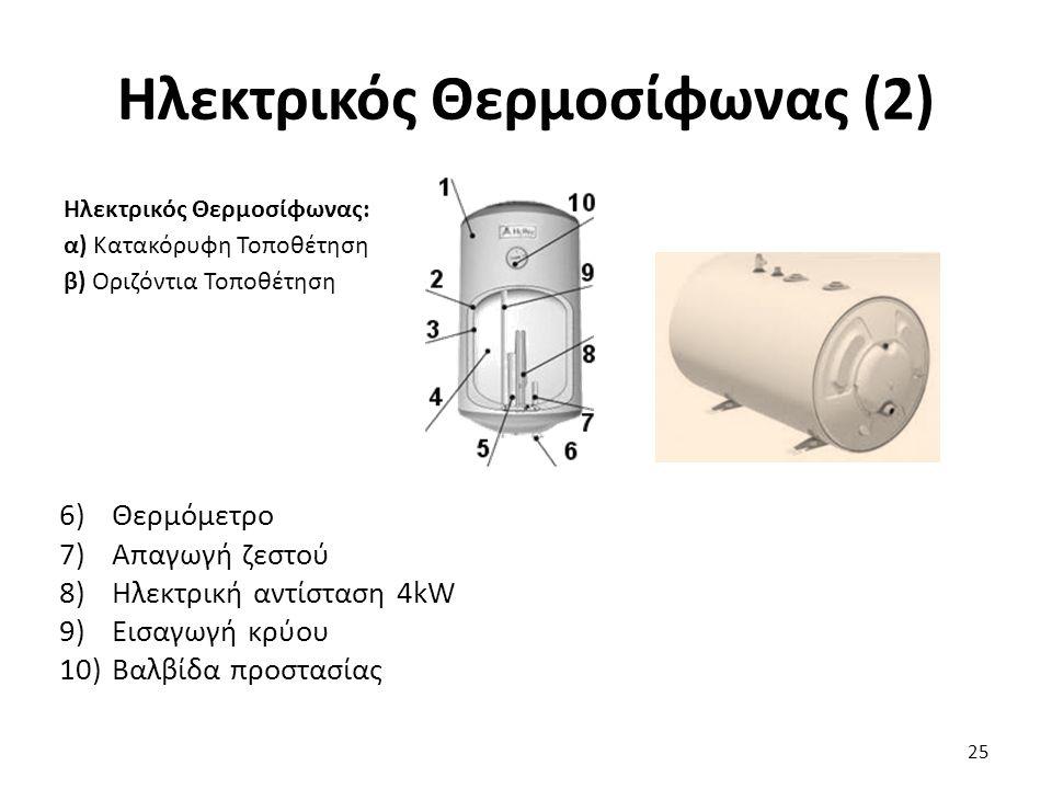 Ηλεκτρικός Θερμοσίφωνας (2)