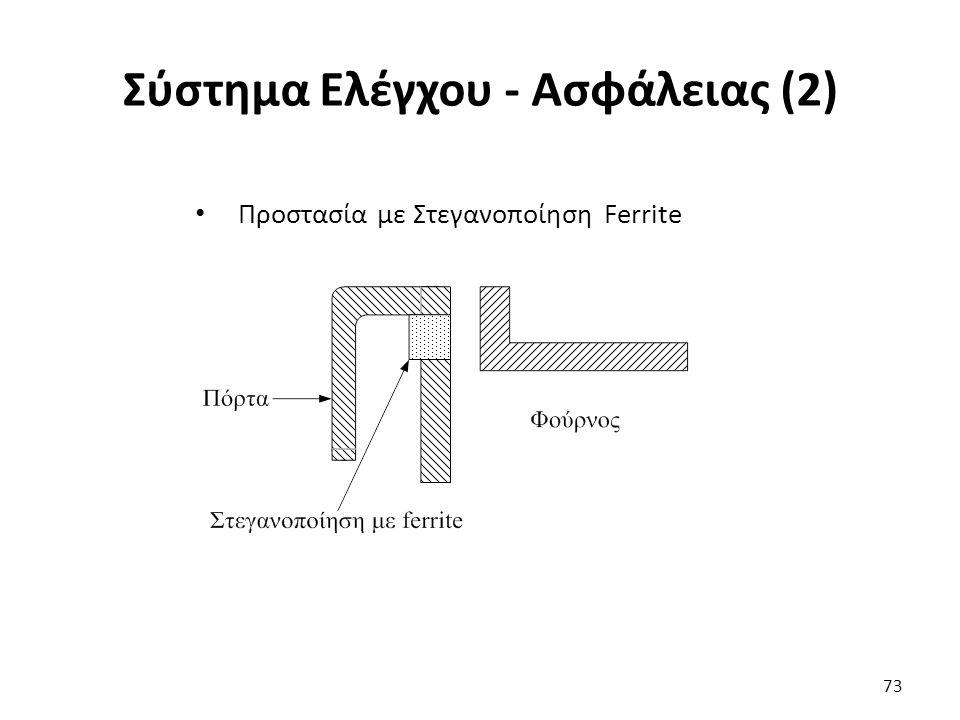 Σύστημα Ελέγχου - Ασφάλειας (2)