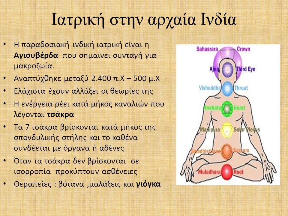 Ιατρική στην αρχαία Ινδία