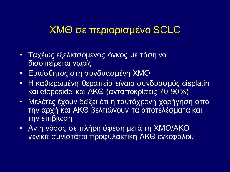 ΧΜΘ σε περιορισμένο SCLC