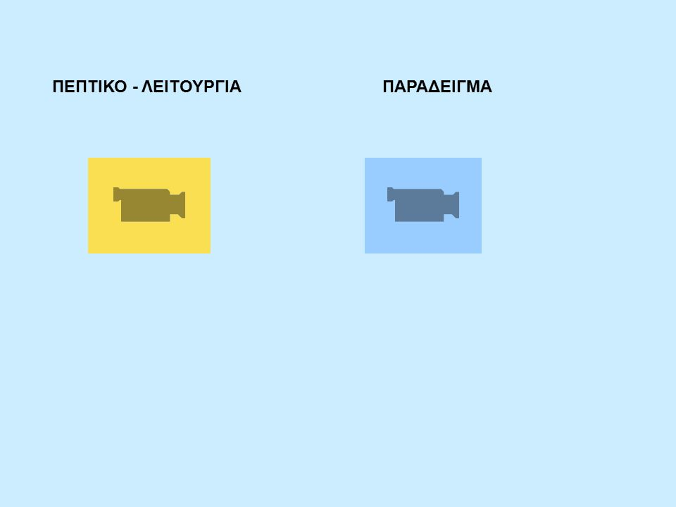 ΠΕΠΤΙΚΟ - ΛΕΙΤΟΥΡΓΙΑ ΠΑΡΑΔΕΙΓΜΑ