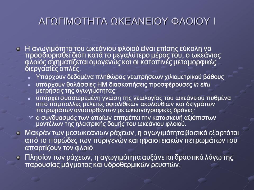 ΑΓΩΓΙΜΟΤΗΤΑ ΩΚΕΑΝΕΙΟΥ ΦΛΟΙΟΥ Ι