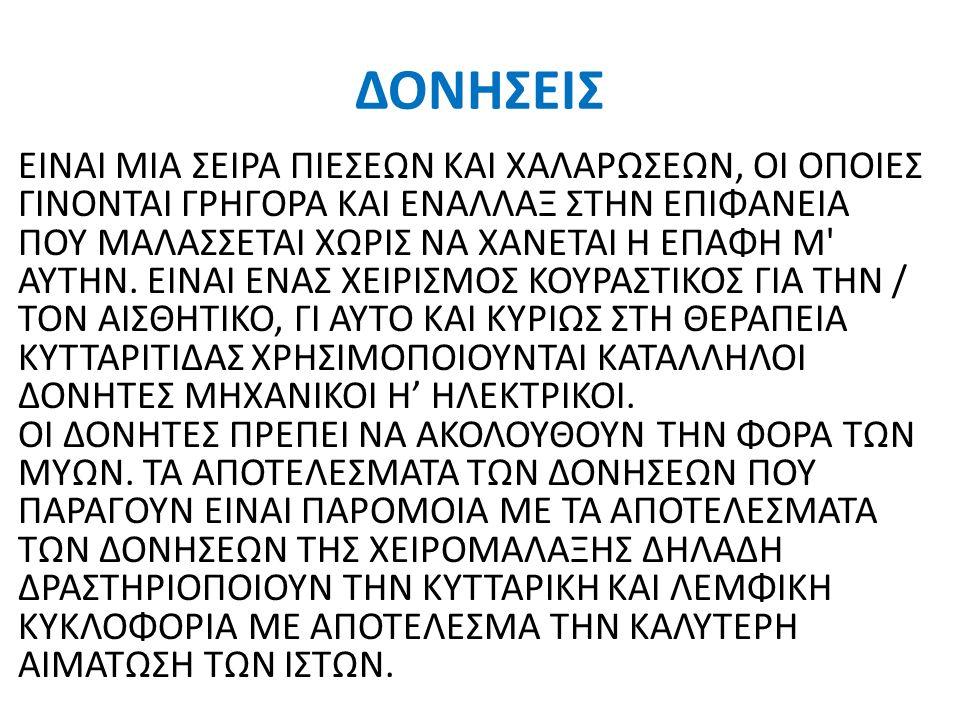 ΔΟΝΗΣΕΙΣ