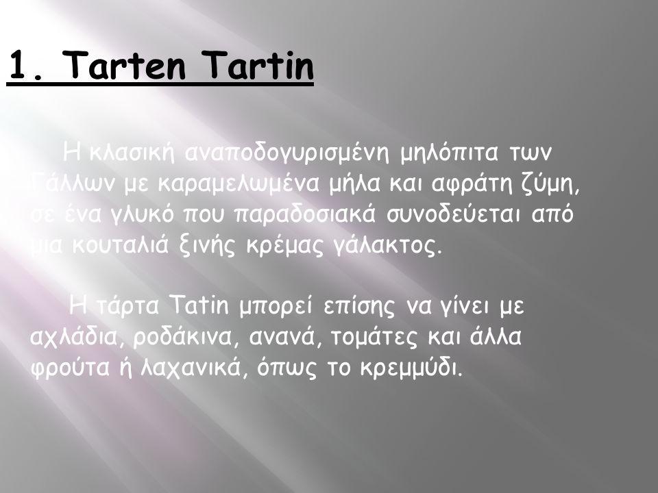 1. Tarten Tartin