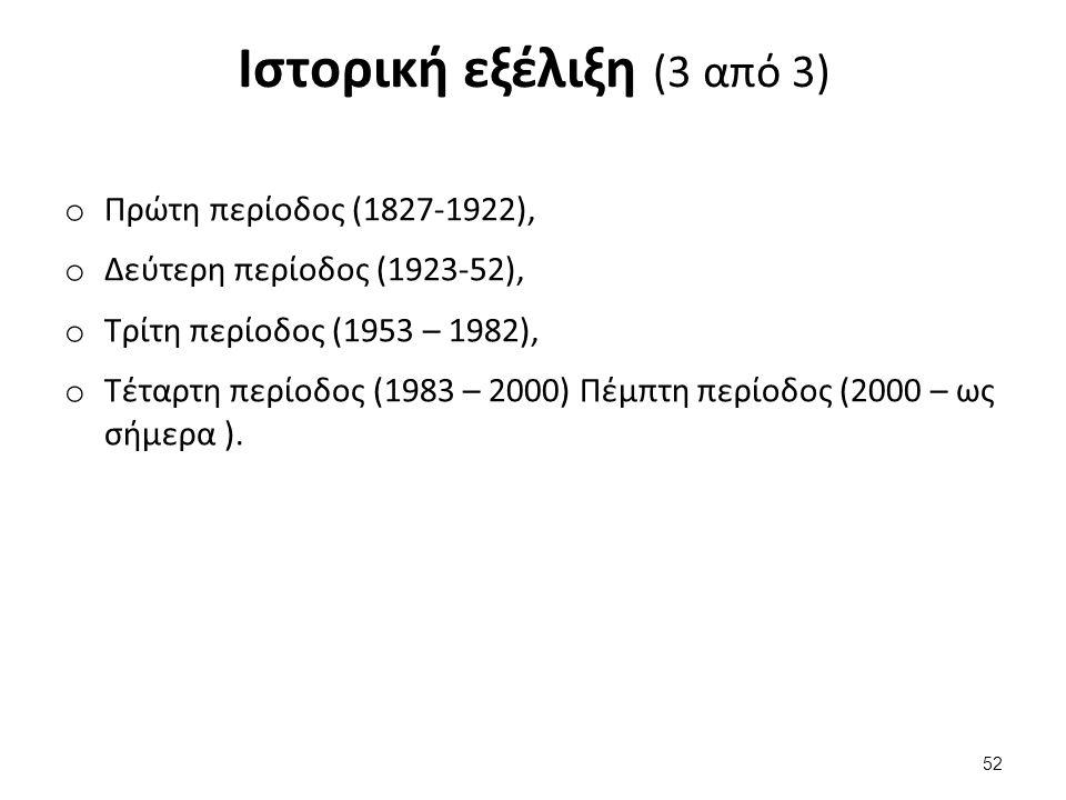 Πρώτη περίοδος (1827-1922) (1 από 4)