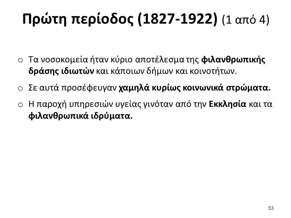 Πρώτη περίοδος (1827-1922) (2 από 4)
