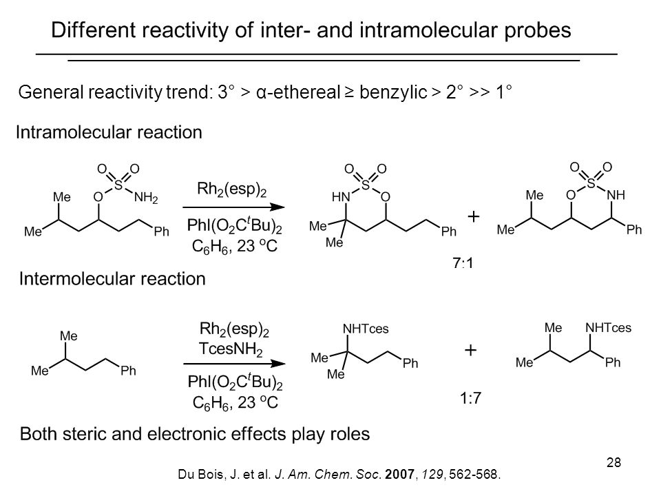 General reactivity trend: 3° > α-ethereal ≥ benzylic > 2° >> 1°