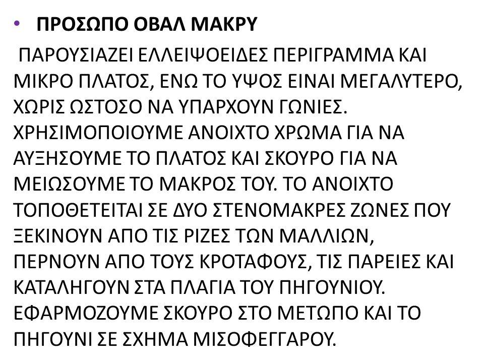 ΠΡΟΣΩΠΟ ΟΒΑΛ ΜΑΚΡΥ