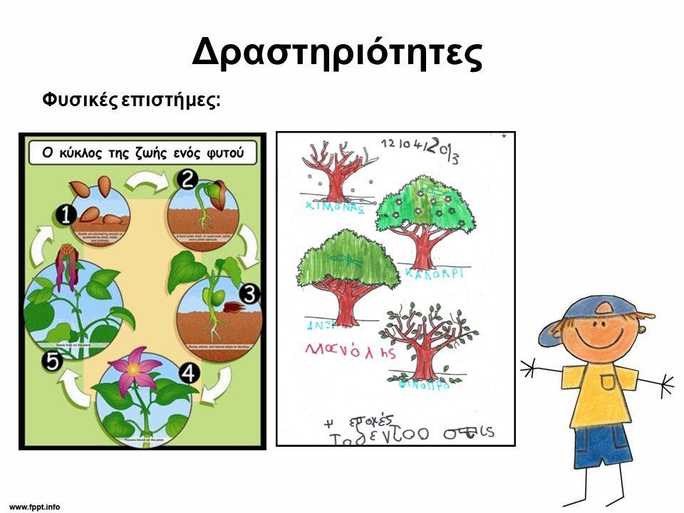 Δραστηριότητες Φυσικές επιστήμες: