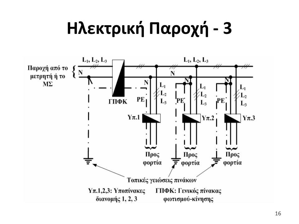 Ηλεκτρική Παροχή - 3