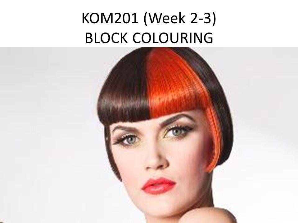 KOM201 (Week 2-3) BLOCK COLOURING