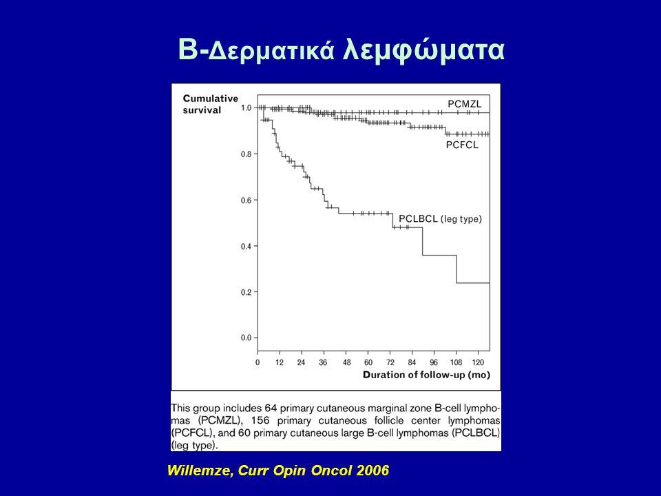 B-Δερματικά λεμφώματα