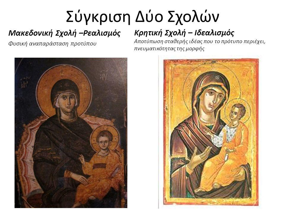 Σύγκριση Δύο Σχολών Μακεδονική Σχολή –Ρεαλισμός