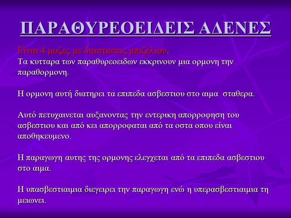 ΠΑΡΑΘΥΡΕΟΕΙΔΕΙΣ ΑΔΕΝΕΣ