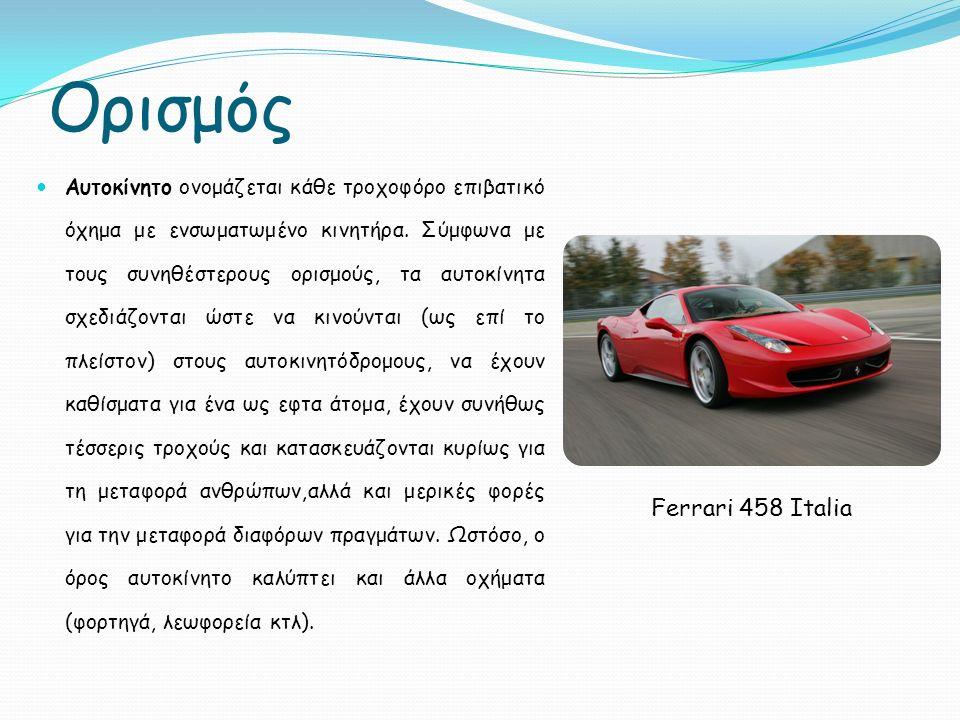 Ορισμός Ferrari 458 Italia