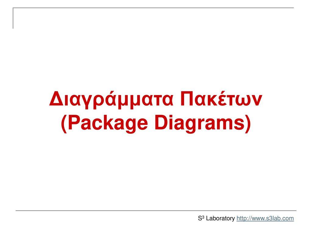 Διαγράμματα Πακέτων (Package Diagrams)