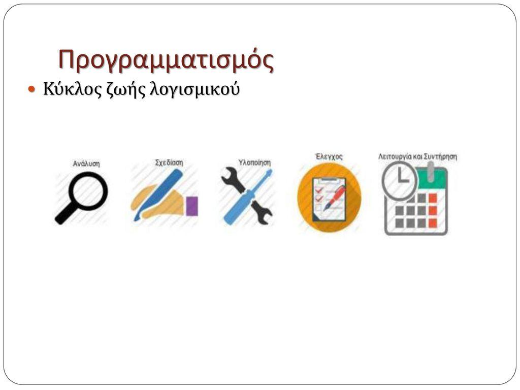 Προγραμματισμός Κύκλος ζωής λογισμικού