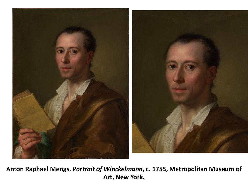 Anton Raphael Mengs, Portrait of Winckelmann, c