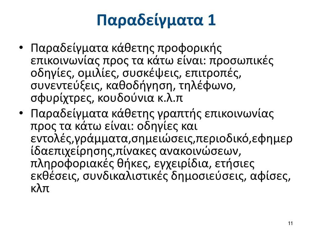 Παραδείγματα 2