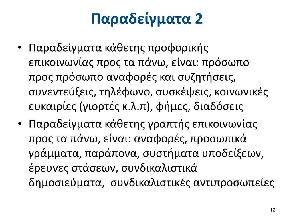 Παραδείγματα 3