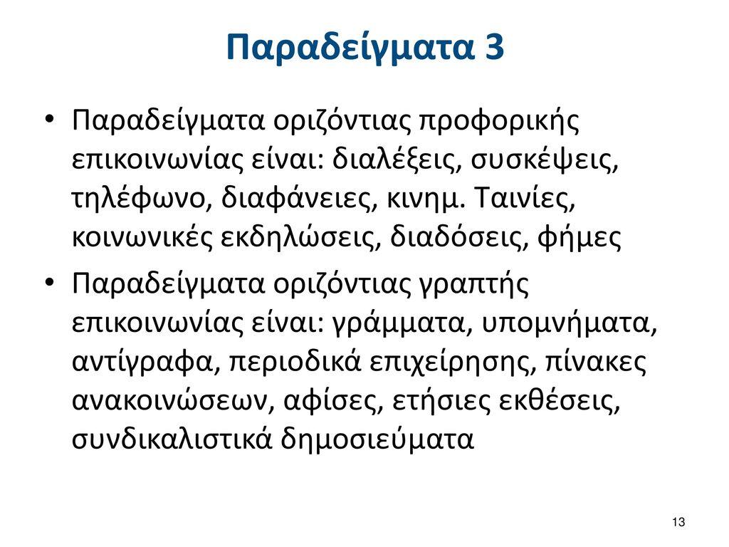 Διαπροσωπική επικοινωνία και εργασιακός χώρος 1/4