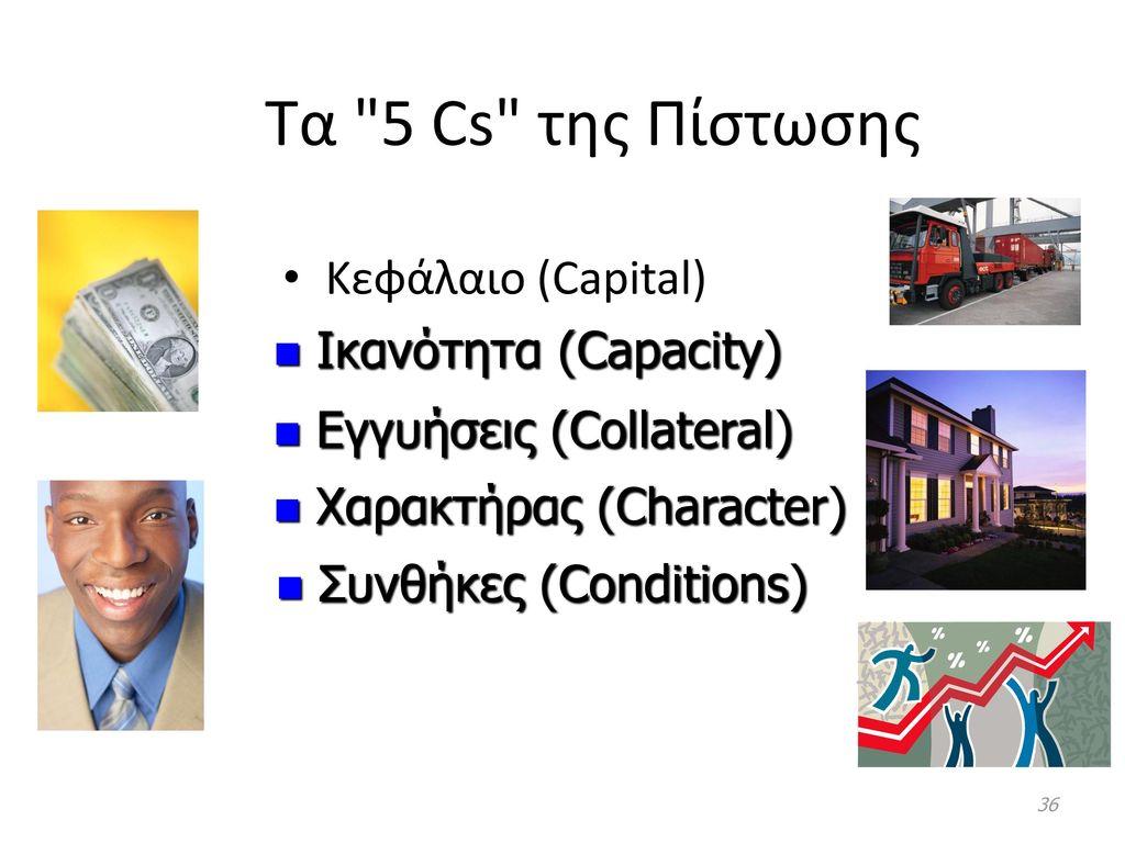 Τα 5 Cs της Πίστωσης Κεφάλαιο (Capital) Ικανότητα (Capacity)