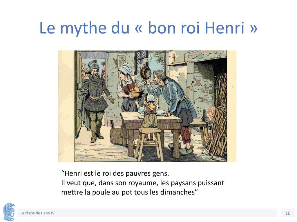 Le mythe du « bon roi Henri »