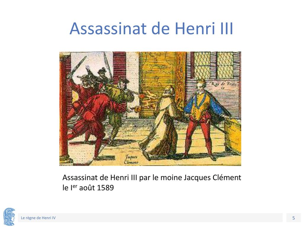 Assassinat de Henri III