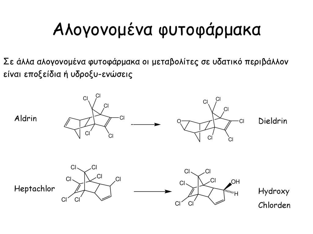 Αλογονομένα φυτοφάρμακα