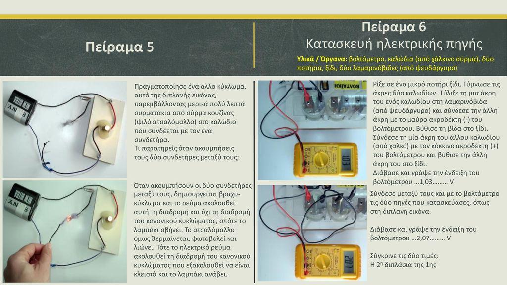 Κατασκευή ηλεκτρικής πηγής