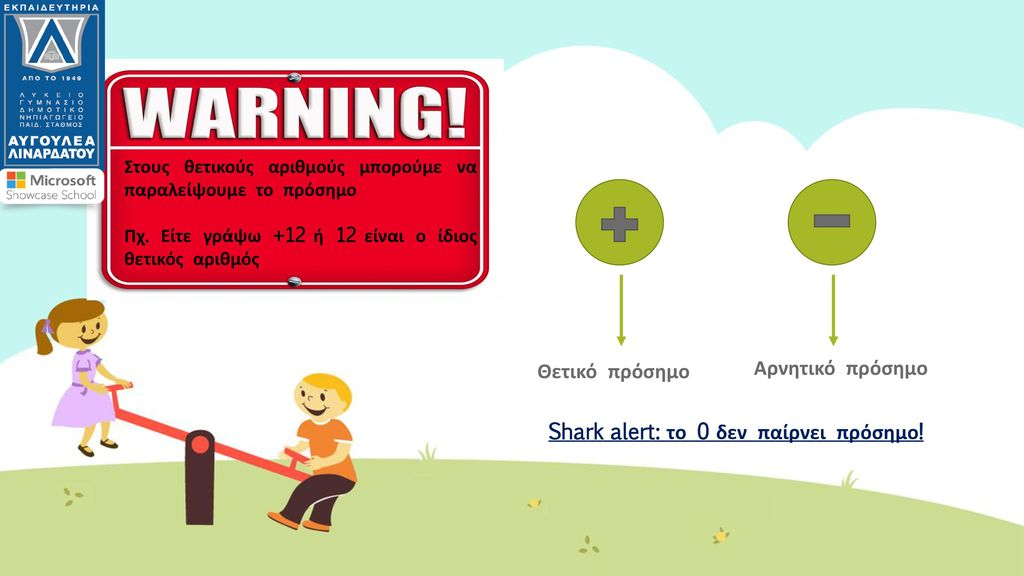 Shark alert: το 0 δεν παίρνει πρόσημο!