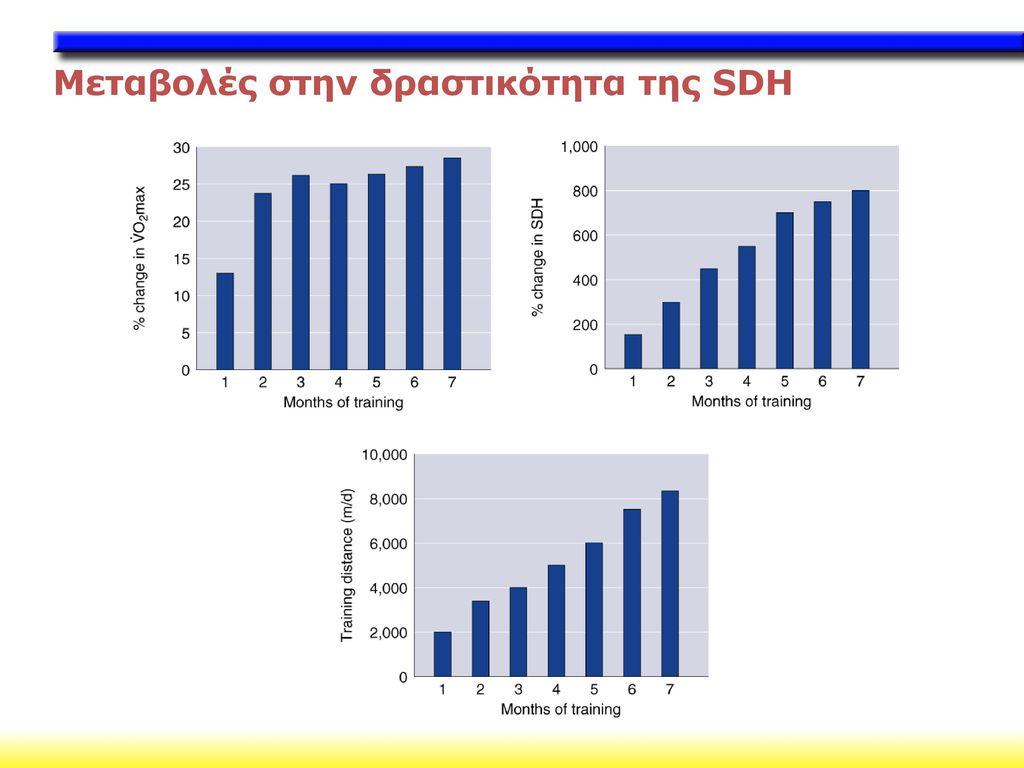 Μεταβολές στην δραστικότητα της SDH